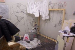 My studio at UARTS, 2003
